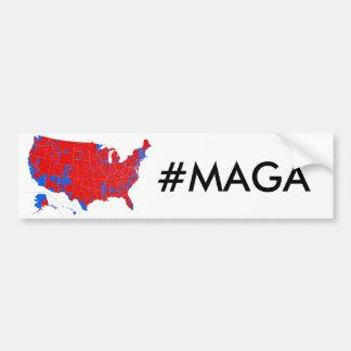 #MAGA - de Verkiezing vloeit de Sticker van de