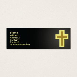 Mager christendom - mini visitekaartjes