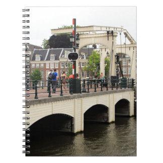 Magere Brug, Amsterdam, Holland Ringband Notitieboek