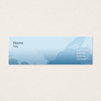 Magere vlieg - mini visitekaartjes