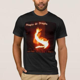 Magia DE Dragon ~ het Ontwerp van Magick Fireplay T Shirt