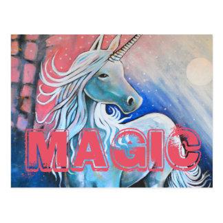Magisch de eenhoorn briefkaart