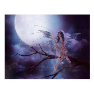 Magisch maanlicht briefkaart