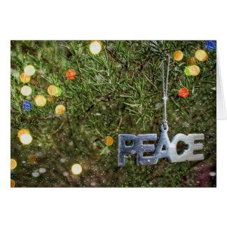 Magisch van de Kerstkaart van de Vrede Kaart