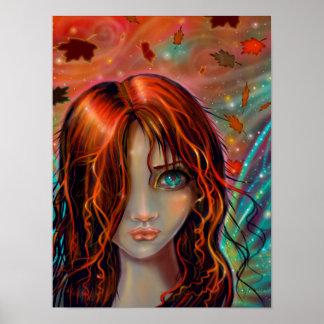 Magisch van Kunst 12 x 16 van de Fee van de Poster