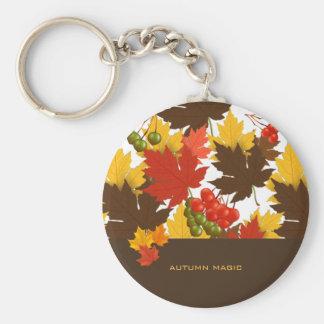 Magische de herfst sleutelhanger