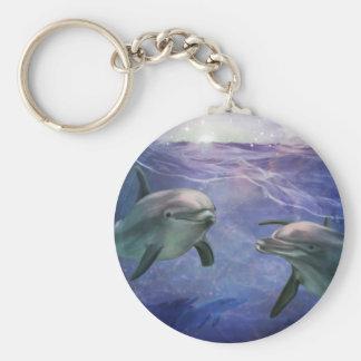 Magische dolfijn sleutelhanger
