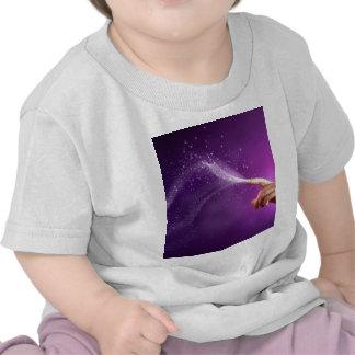 Magische elegante wicca new age lavendel van de pr t shirts