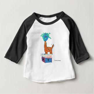 Magische giraf baby t shirts