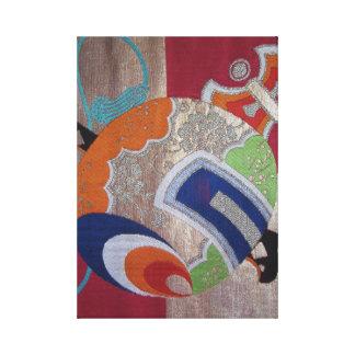 Magische Houten hamer Canvas Print