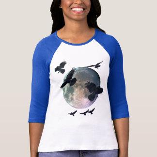 Magische Maan & het Vliegende Overhemd van het T Shirt