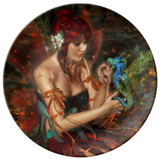 Magische & Mystieke Fantasie Porselein Bord