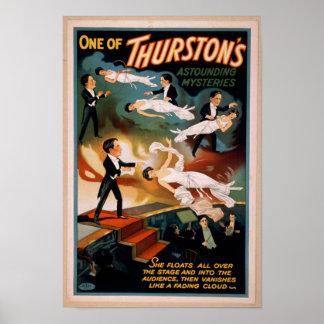 Magische Poster van de Geheimen van Thurston het
