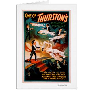 Magische Poster van de Geheimen van Thurston het Briefkaarten 0