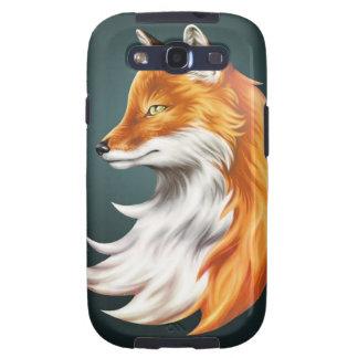 Magische Vos - Mobiel Geval (de Melkweg van Samsun Galaxy S3 Hoesje