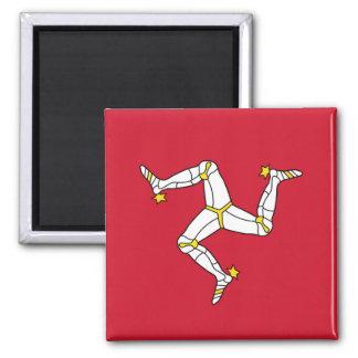 Magneet met de Vlag van het Eiland Man, het