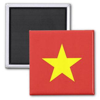 Magneet met Vlag van Vietnam