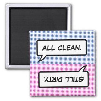 Magneet van de Afwasmachine van de Bel van Word de