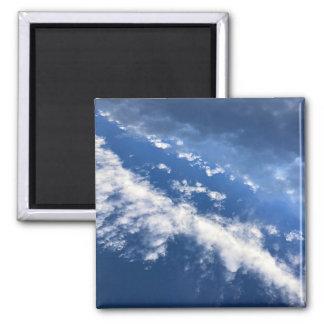 Magneet van de Hemel van de wolk de Blauwe