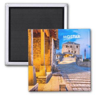 Magneet van de Stad van Mostar de Oude, Bosnia