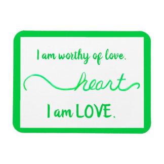 Magneet van de Woorden van de Liefde van Chakra