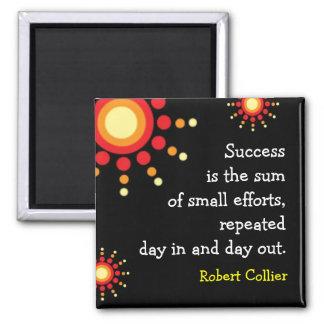 Magneet van het Citaat van het succes de Motivatie