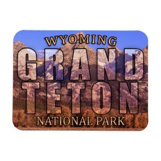 Magneet van het Park van Grand Teton van Wyoming