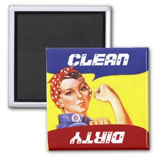 Magneet Vintage Rosie de Tik van de Afwasmachine v