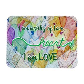 Magneten van de Woorden van de Liefde van Chakra