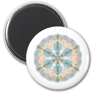 Magnetische Energie Mandala Koelkast Magneet