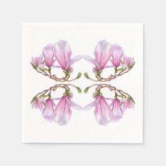 Magnolia Wegwerp Servetten