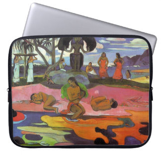 """Mahana Geen Atua"" - Paul Gauguin Laptop Sleeve"