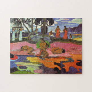 """Mahana Geen Atua"" - Paul Gauguin Puzzel"