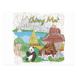 MAI van Chiang Briefkaart