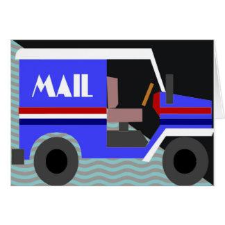 mailtruck wenskaart