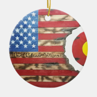 Main_Colorado_Veterans Rond Keramisch Ornament