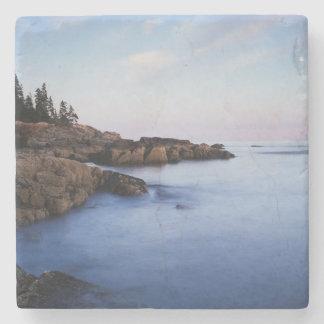 Maine, Acadia Nationaal Park, Moonset Stenen Onderzetter