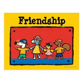 Maisy en de Beste Handen van de Greep van Vrienden Briefkaart