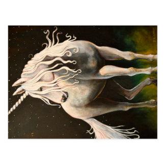 Majesteit Unicorn. Briefkaart