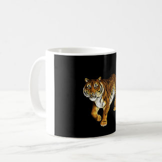 Majestueuze Tijger op Prowl Koffiemok