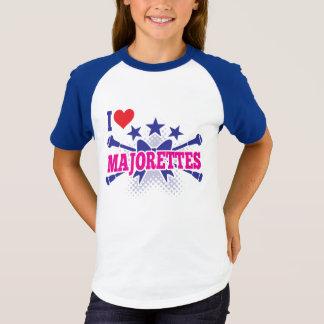 Majorettes, houd ik van Majorettes, Gekruiste T Shirt