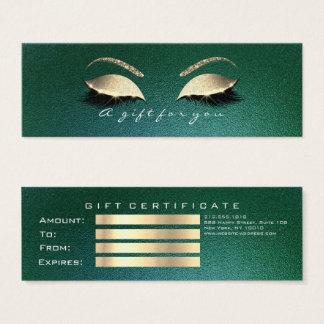 Make-up van de Zwepen Cali van het Certificaat van Mini Visitekaartjes
