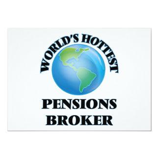 Makelaar van de Pensioenen van de wereld de Uitnodiging