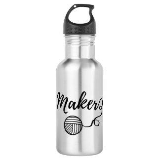 Maker • Garen & de Typografie van Ambachten Waterfles