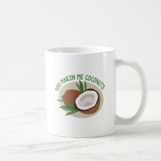 Makin me Kokosnoten Koffiemok