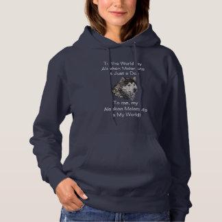 Malamute van Alaska Hoodie
