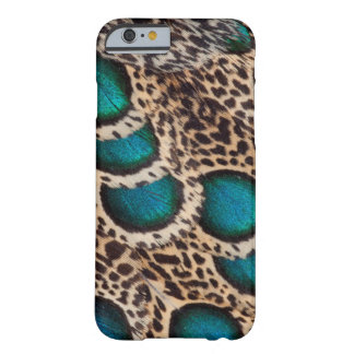 Maleise pauw-Fazant veren Barely There iPhone 6 Hoesje