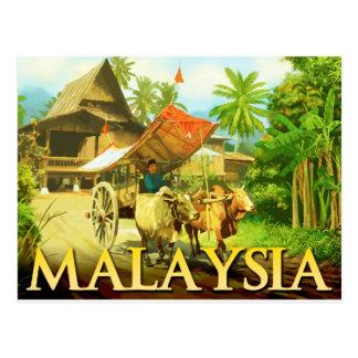 Maleisië - Ossewagen Briefkaart
