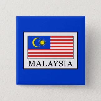 Maleisië Vierkante Button 5,1 Cm