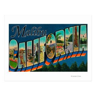 Malibu, Californië - de Grote Scènes van de Brief Briefkaart